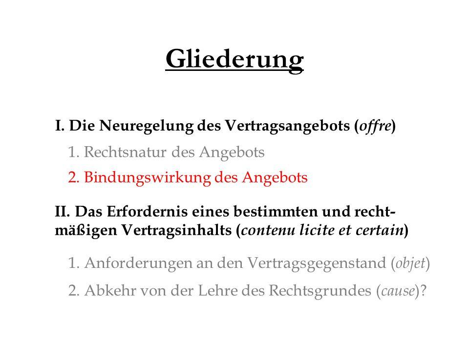 Gliederung II.