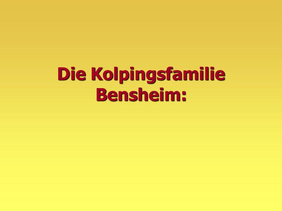 Die Kolpingsfamilie Bensheim: