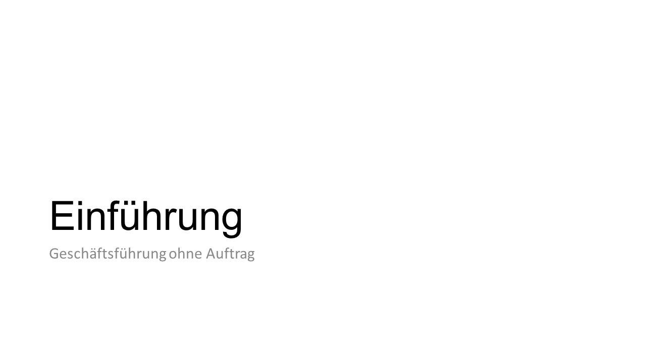 Fremdgeschäftsführungswille […] wird bei objektiv fremden Geschäften vermutet […] wird bei auch fremden Geschäften jedenfalls grundsätzlich vermutet BGHZ 40, 28 [Funkenflug] BGH: Brandbekämpfung als auch fremdes Geschäft H.L.: Brandbekämpfung durch die Feuerwehr ohne Fremdgeschäftsführungswillen; stattdessen: […] aufgrund öffentlich-rechtlicher Dienstvorschriften.