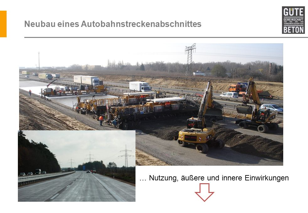 Schnellbeton – BAB A5 AK Darmstadt – AS Seeheim-Jugenheim Verstärkung von 4 Endplatten (a' 12,50 x 5,00 x 0,65 m) ca.