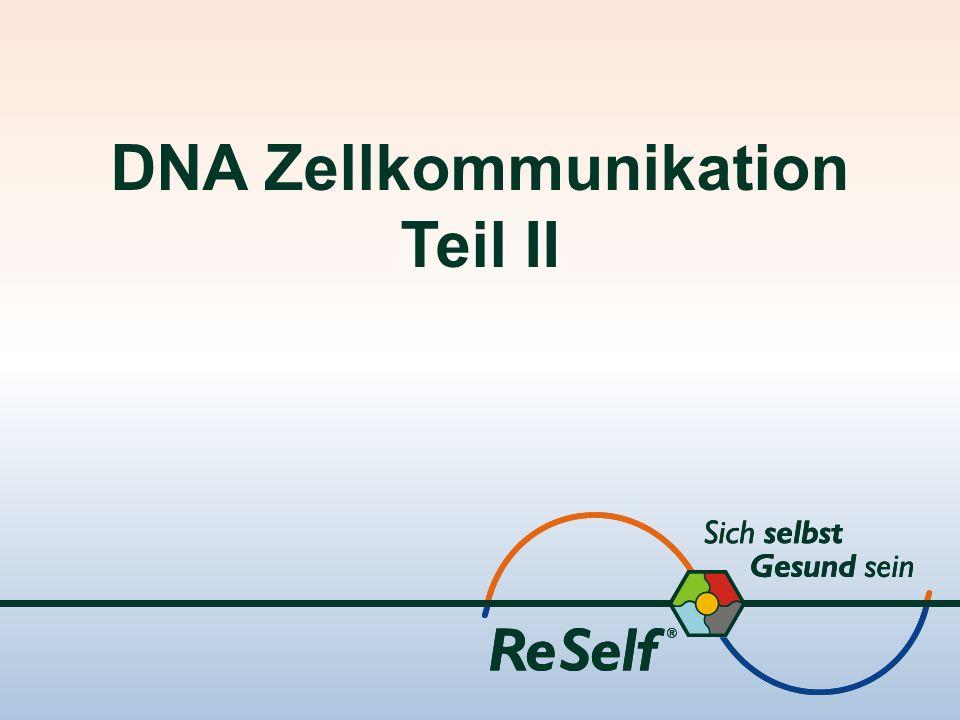 DNA Zellkommunikation Teil II