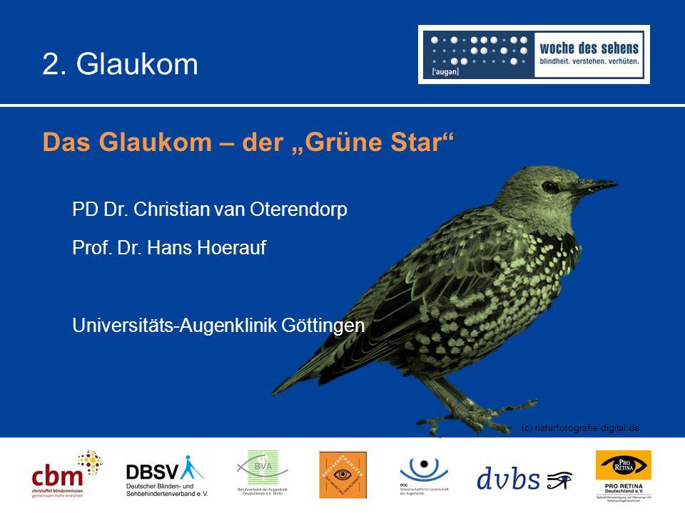 """2.Glaukom Das Glaukom – der """"Grüne Star (c) naturfotografie-digital.de PD Dr."""
