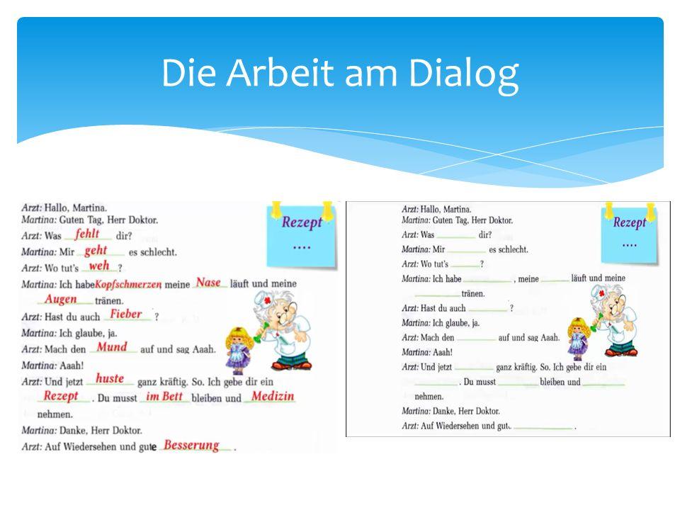 Die Arbeit am Dialog