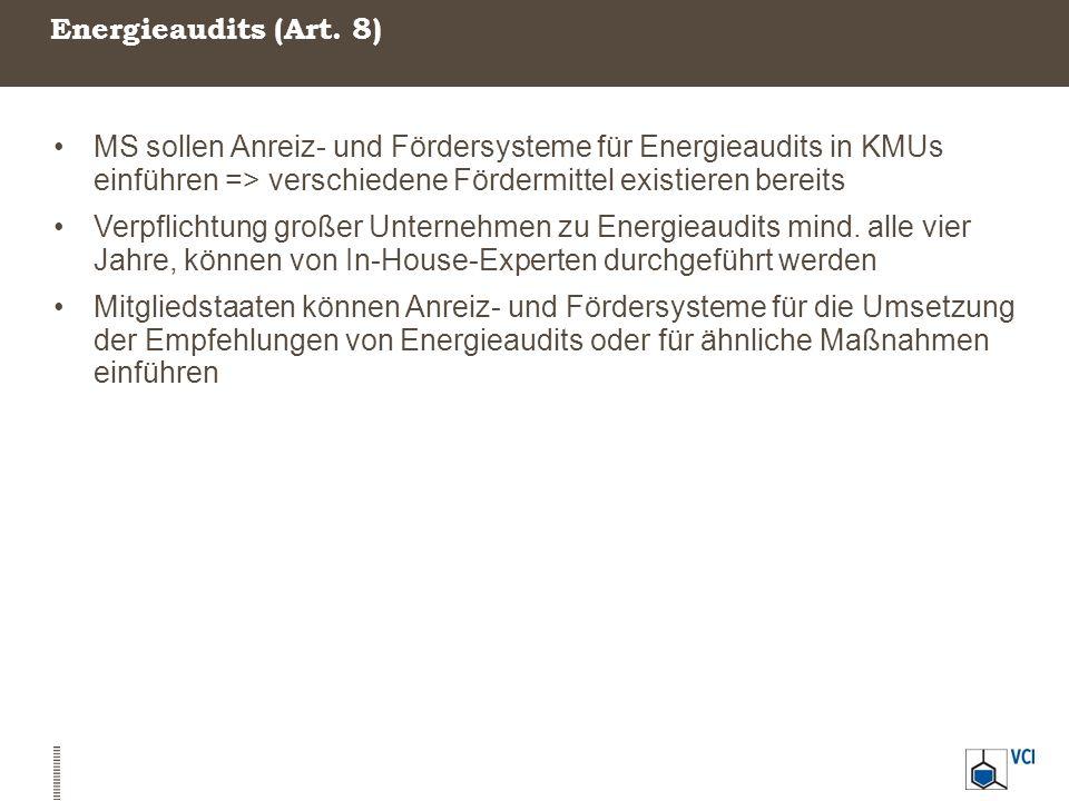 Energieaudits (Art.