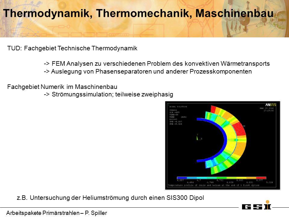 Arbeitspakete Primärstrahlen – P.Spiller Betatron Tune Control for SIS-100 R.