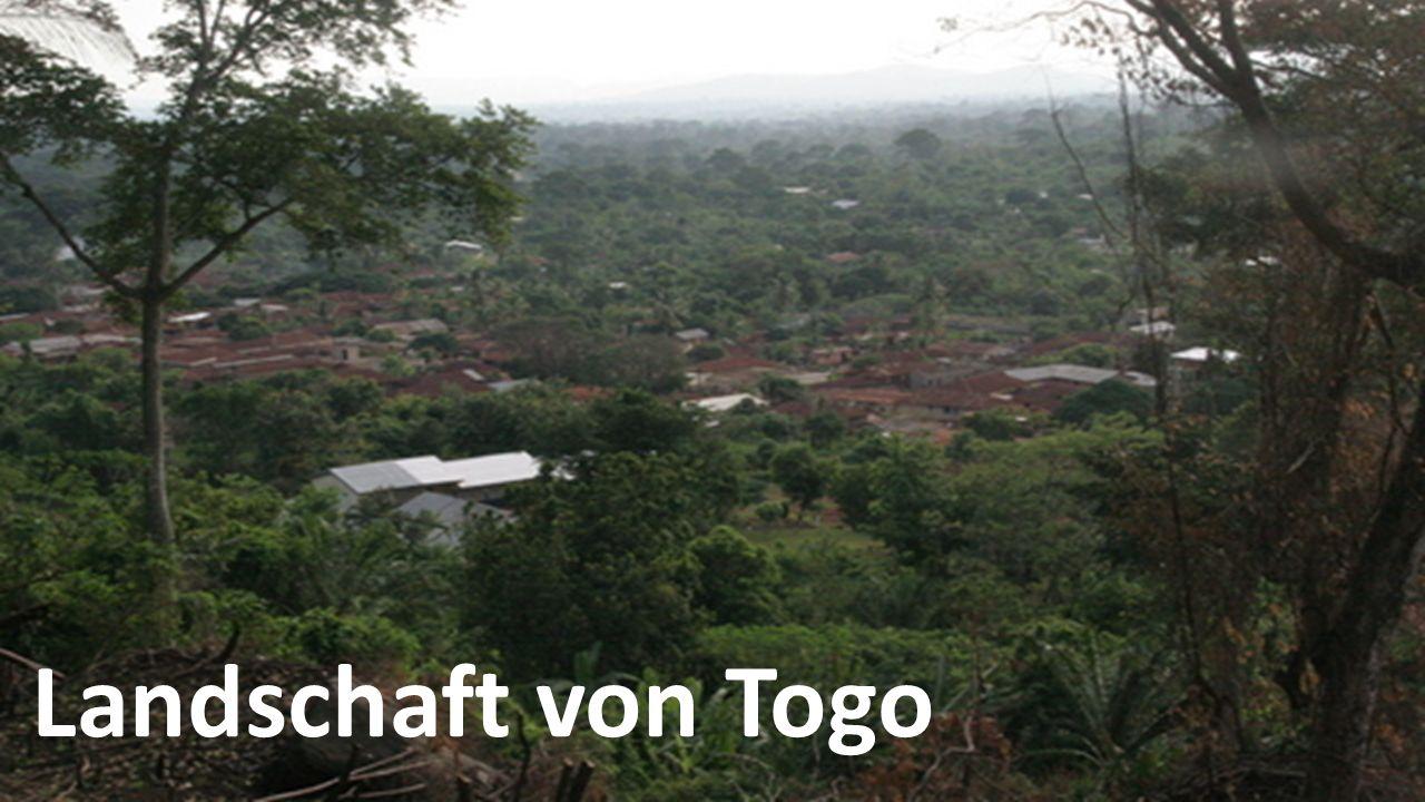 Landschaft von Togo