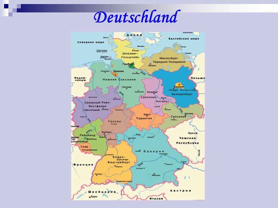 DEUTSCHLAND Wo liegt Deutschland. An welche Staaten grenzt es.