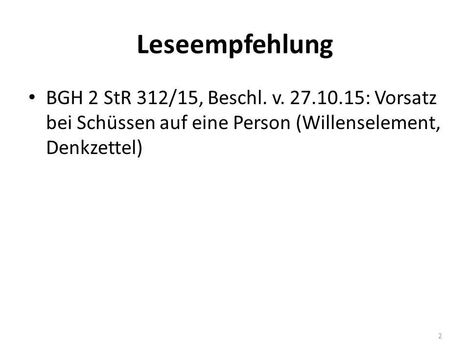 Leseempfehlung BGH 2 StR 312/15, Beschl. v.