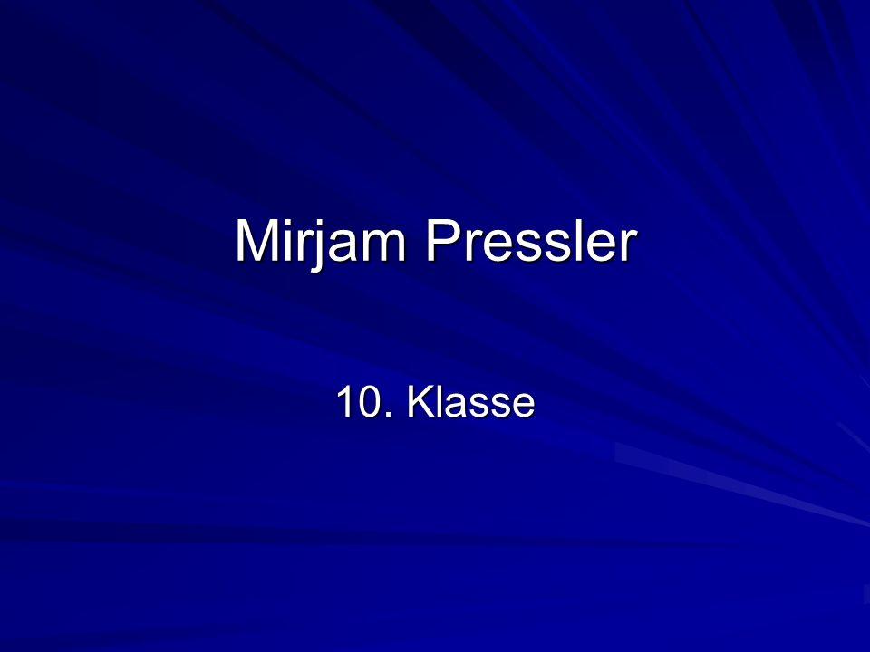 Mirjam Pressler wurde 1940 in Darmstadt geboren.