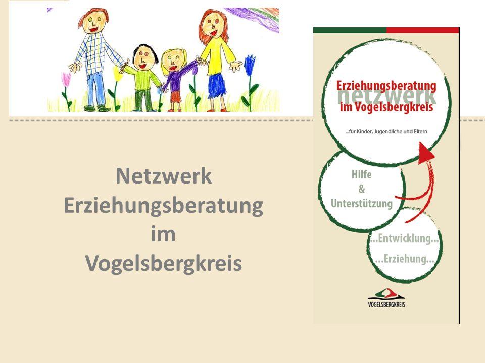 NETZWERK ERZIEHUNGSBERATUNG Geschichte der Erziehungsberatung im Vogelsbergkreis Von Beginn bis zur Neugestaltung seit 1.April 2014 Netzwerk Erziehungsberatung im Vogelsbergkreis