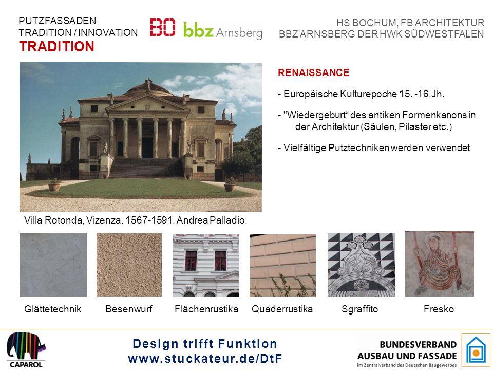 Design trifft Funktion www.stuckateur.de/DtF HS BOCHUM, FB ARCHITEKTUR BBZ ARNSBERG DER HWK SÜDWESTFALEN 19.