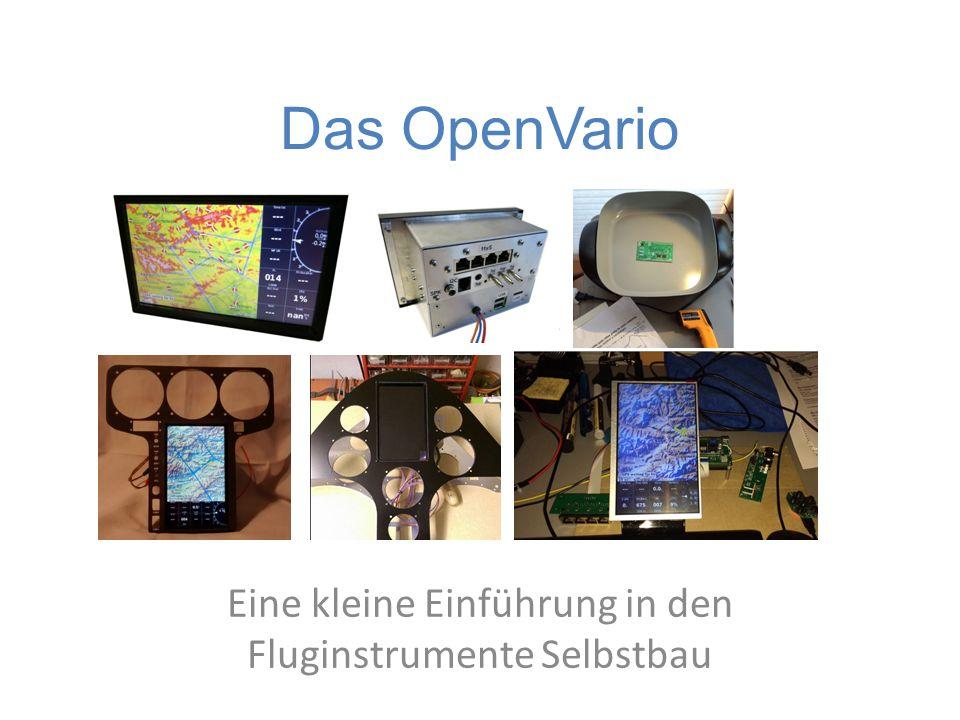 Das OpenVario Eine kleine Einführung in den Fluginstrumente Selbstbau