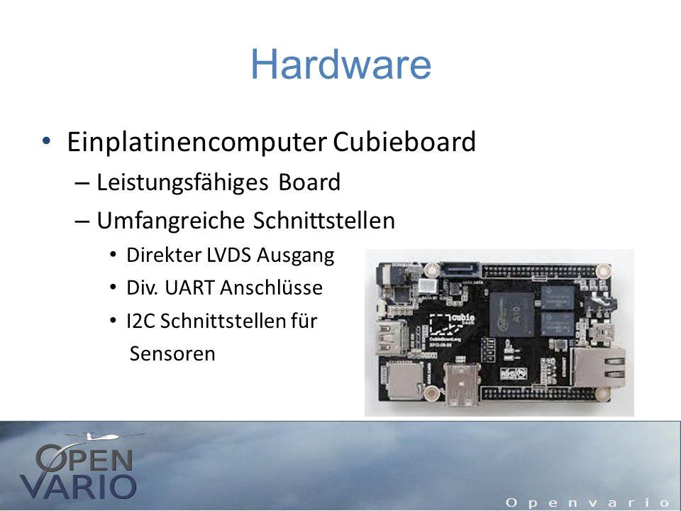 Hardware Einplatinencomputer Cubieboard – Leistungsfähiges Board – Umfangreiche Schnittstellen Direkter LVDS Ausgang Div. UART Anschlüsse I2C Schnitts