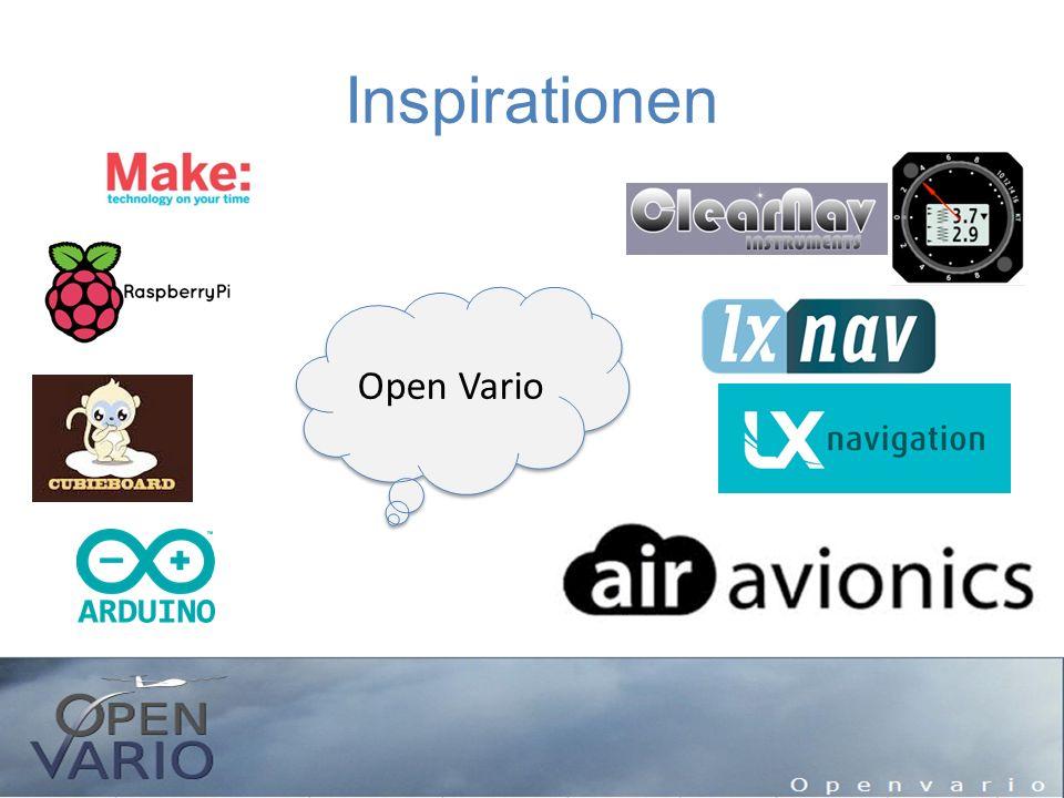 Ausblick Vario wird weiterentwickelt – Sollfahrt – Integration und Verwendung aller Sensoren Aber wie.