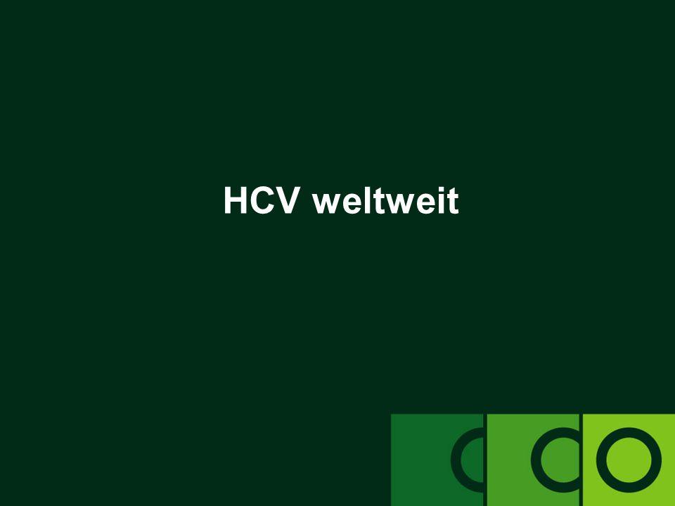 clinicaloptions.com/hepatitis An der Front: Bekämpfung der chronischen Hepatitis C – Heute und in Zukunft Aktuelle Last durch die HCV-Epidemie  Weltweit –schätzungsweise 140-170 Millionen Menschen mit dem HCV infiziert [1] –3-4 Millionen neue Infektionen pro Jahr  In den USA –mindestens 3,9 Millionen Menschen mit HCV infiziert [2] –Verursacht jährlich ~12.000+ Todesfälle  Schätzungen basierend auf einer Studie mit Daten aus 22 europäischen Ländern: –~7,3-8,8 Millionen Menschen in Europa mit HCV infiziert [3] –86.000 Todesfälle aufgrund von HCV in Europa im Jahr 2002 1.