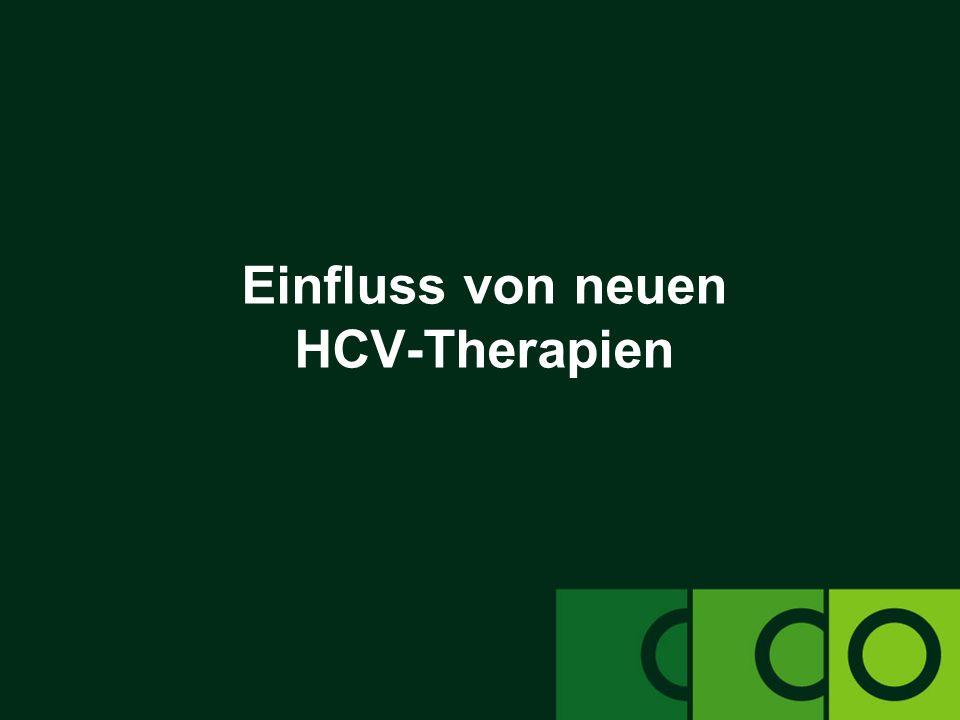 Einfluss von neuen HCV-Therapien