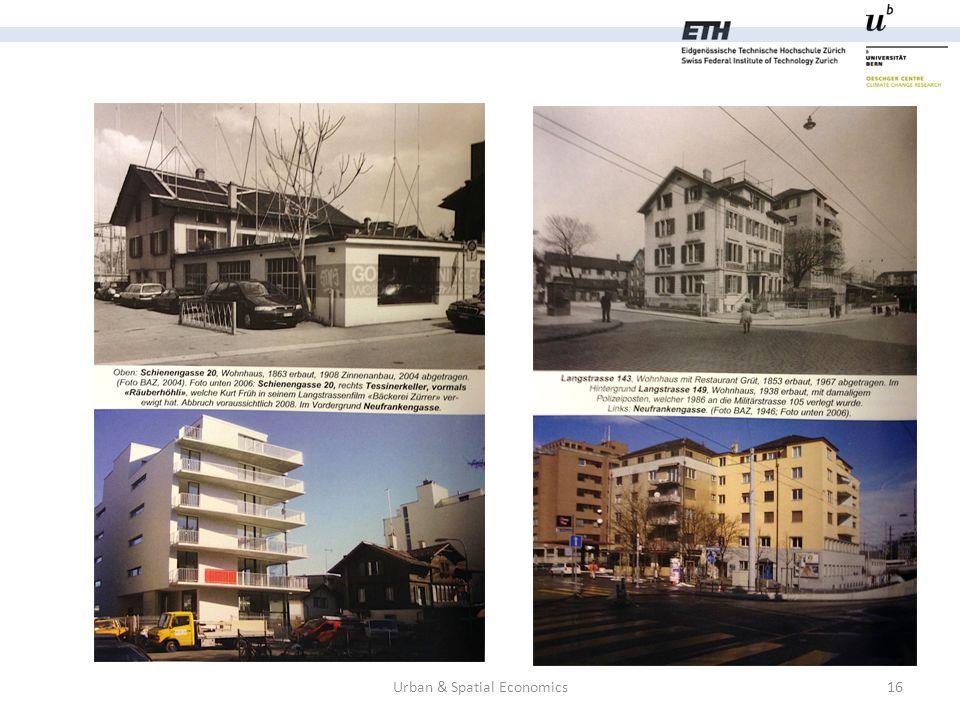 Urban & Spatial Economics16