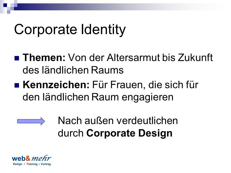 Was ist Corporate Design? Form Farbe Bildmarke Gestaltungsrichtlinien