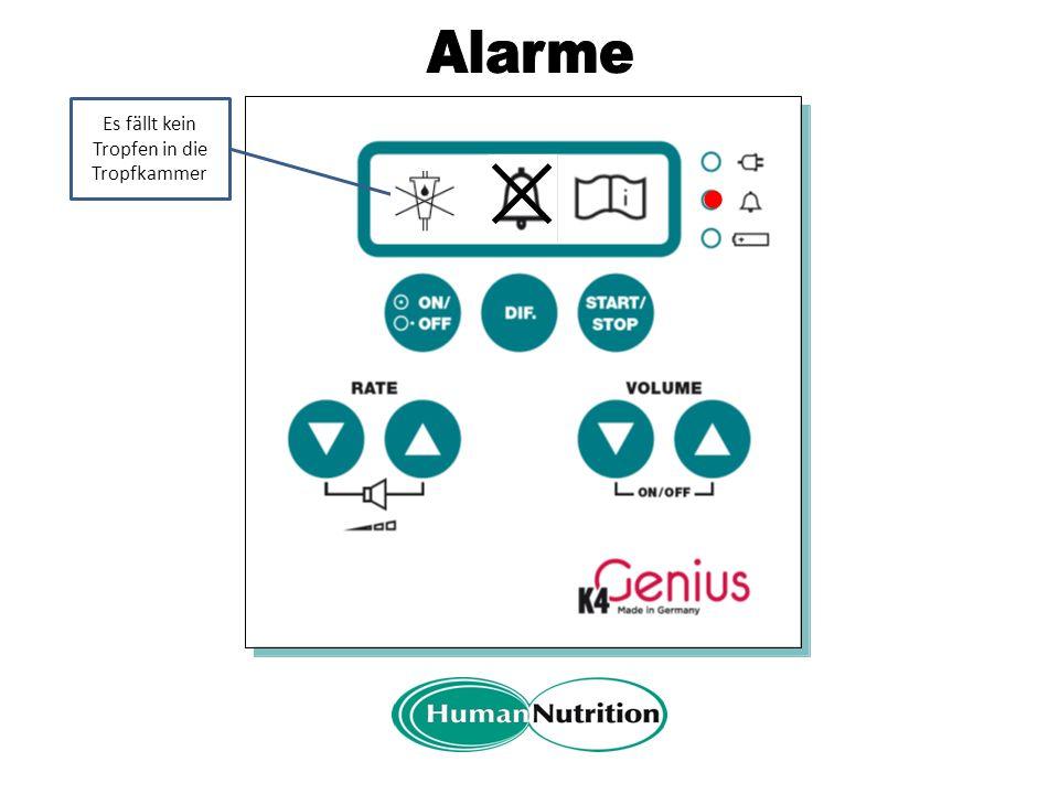 """A In der Anzeige erscheint das Symbol für """"Bedienungsanleitung beachten Hier wir der jeweilige Alarm angezeigt"""
