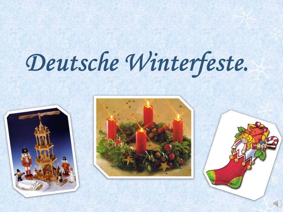 Deutsche Winterfeste.