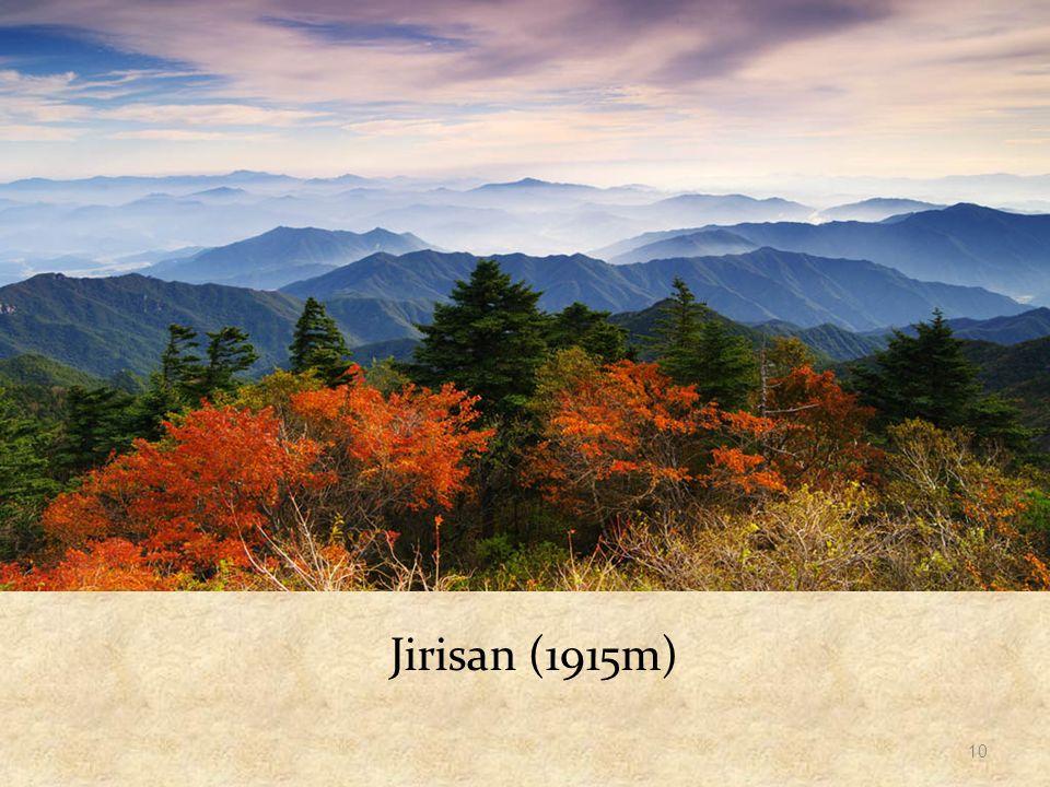 Jirisan (1915m) 10