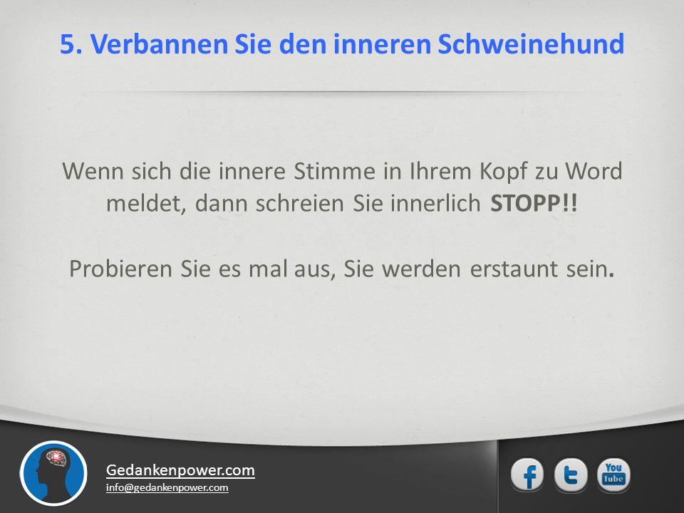 Gedankenpower.com info@gedankenpower.com 5.