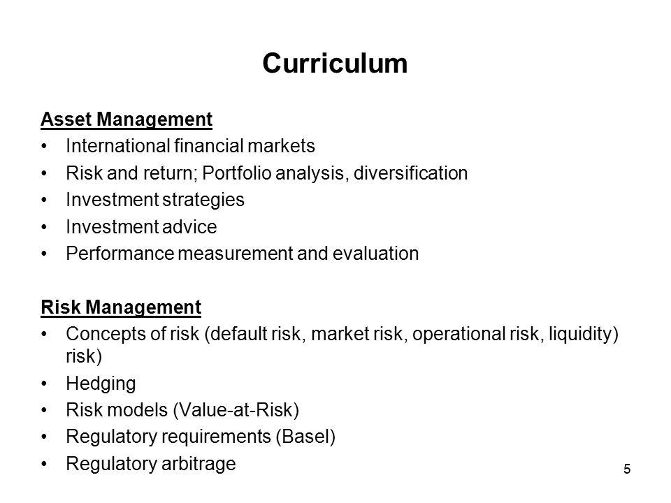 6 Curriculum Mikroökonomik I Industrieökonomik Innovationstheorie Insb.