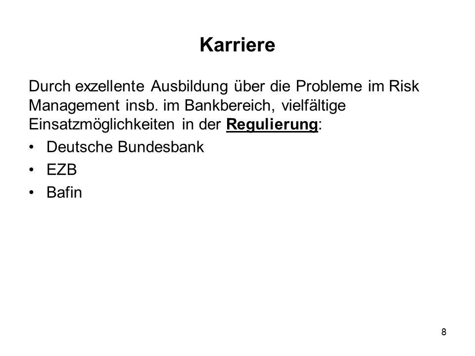 9 Karriere Regulatory Arbitrage, d.h.