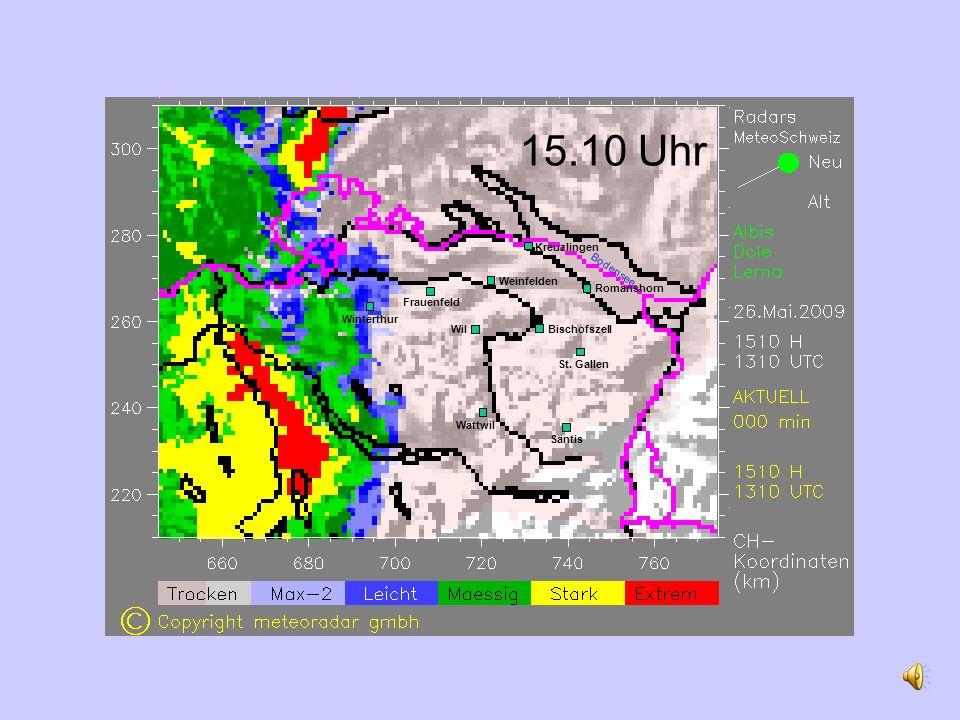 15.10 Uhr Romanshorn Weinfelden Wil St.