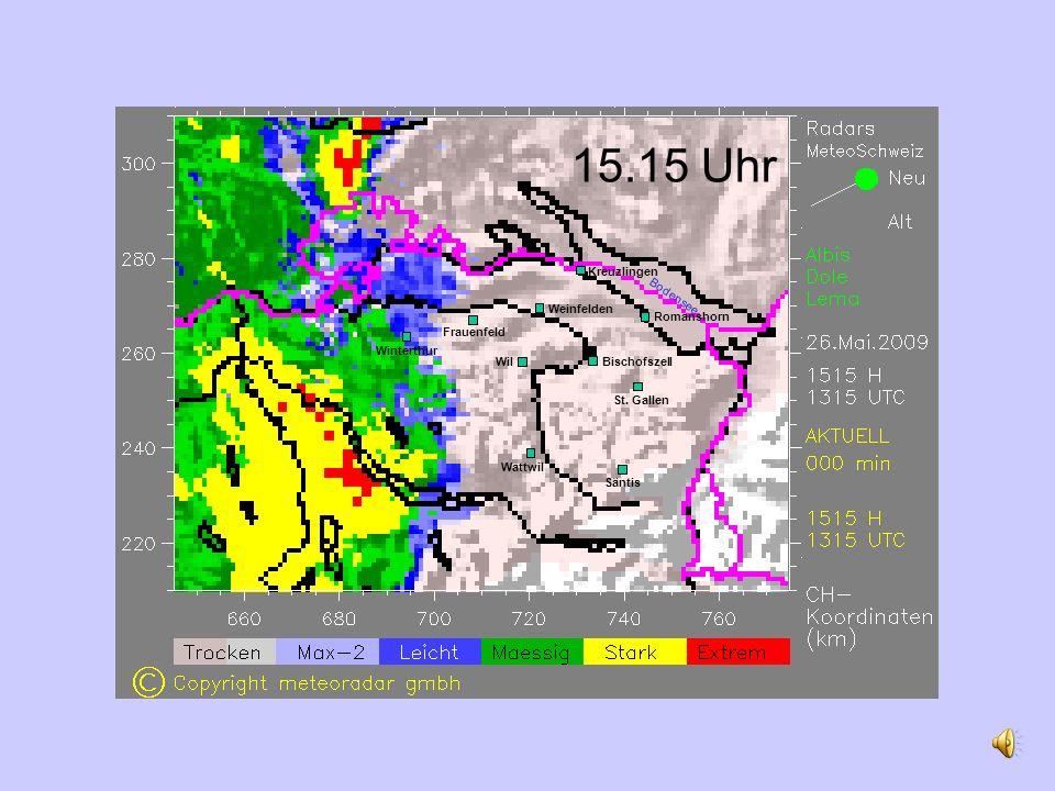 15.15 Uhr Romanshorn Weinfelden Wil St.