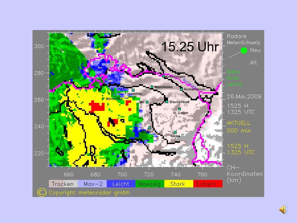15.25 Uhr Romanshorn Weinfelden Wil St.