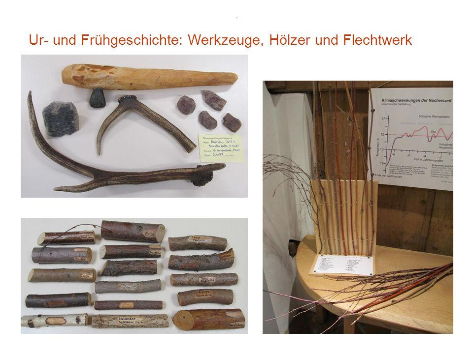 . Frühgeschichte: Eisenzeit u. Kelten, Römische Kaiserzeit