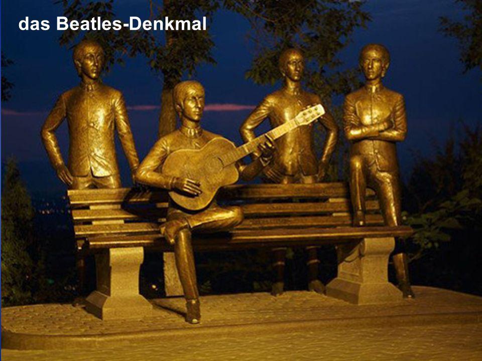 das Beatles-Denkmal