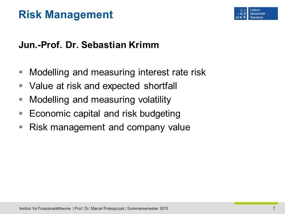 8 Asset Pricing Prof.Dr.