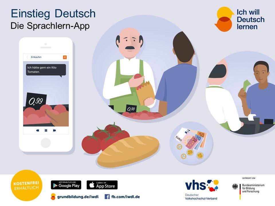 Einstieg Deutsch Die Sprachlern-App