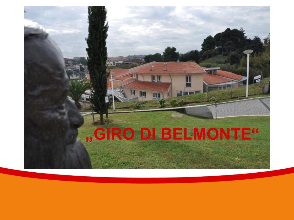 """Textmasterformate durch Klicken bearbeiten 7 """"GIRO DI BELMONTE"""