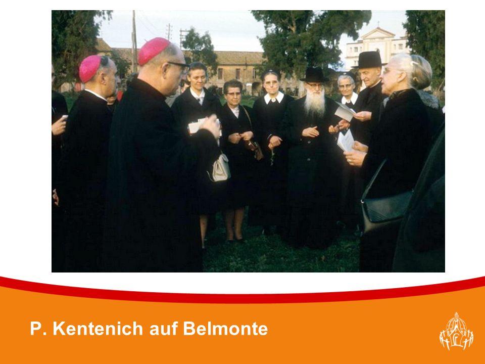 Textmasterformate durch Klicken bearbeiten 8 P. Kentenich auf Belmonte