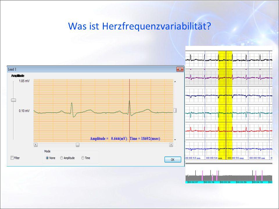 Was ist Herzfrequenzvariabilität?