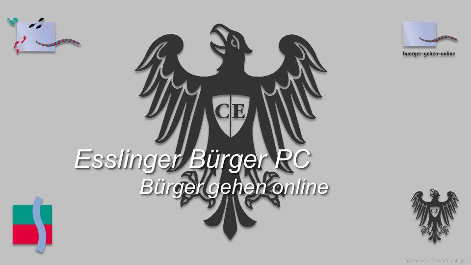 Esslinger Bürger PC Bürger gehen online Esslinger Bürger PC Bürger gehen online
