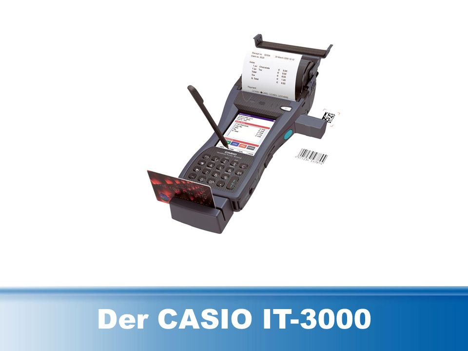 Der CASIO IT-3000