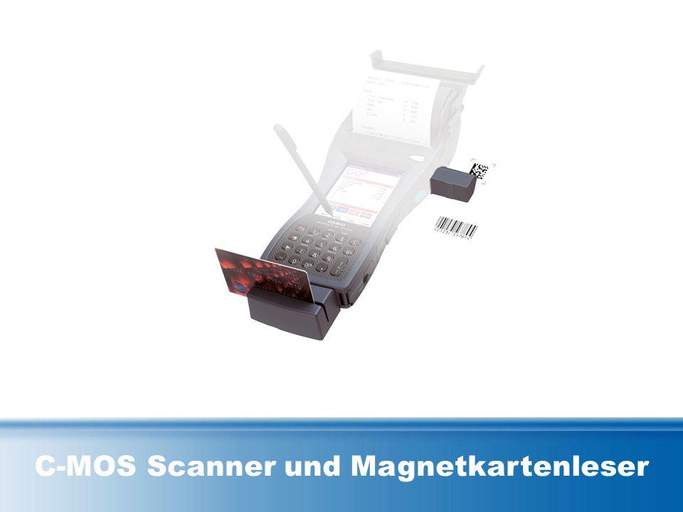 C-MOS Scanner und Magnetkartenleser