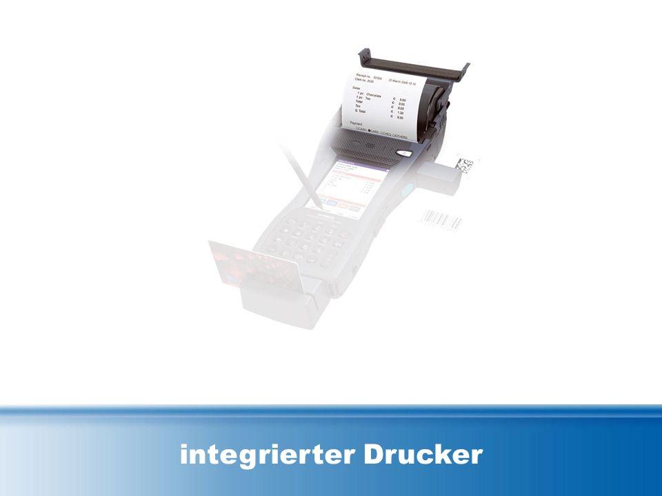 integrierter Drucker