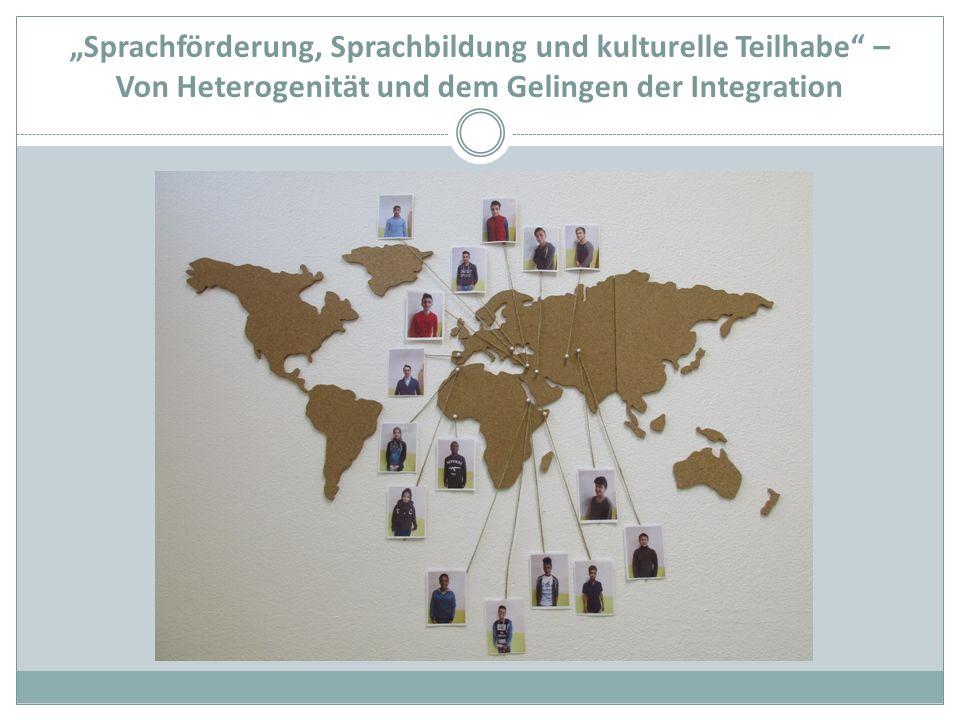 """""""Sprachförderung, Sprachbildung und kulturelle Teilhabe – Von Heterogenität und dem Gelingen der Integration"""