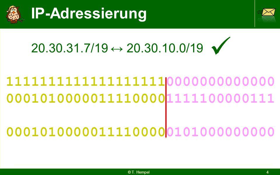 IP-Adressierung © T.