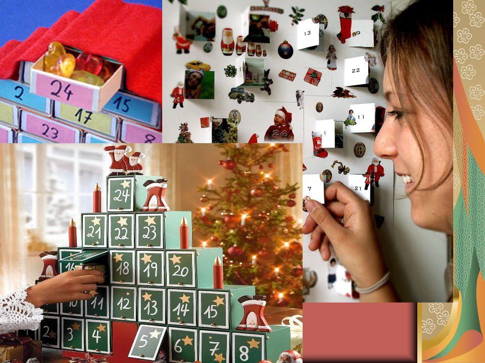Die Kinder mögen vor allem den Adventskalender mit seinen 24 Türchen.