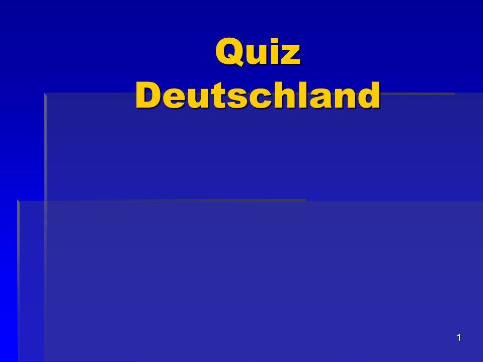 11 Wie heißt die Hauptstadt Thüringens?ERFURT