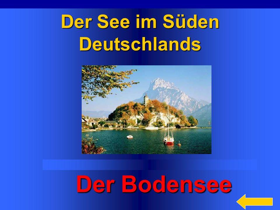 29 Die höchsten Berge in der BRD sind… Alpen