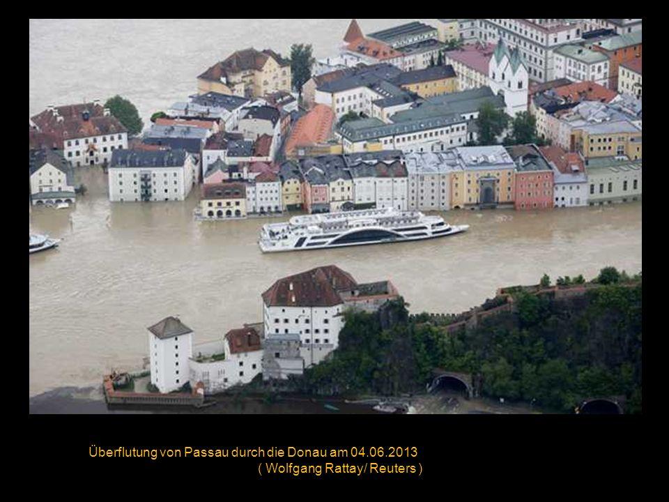Überflutung des historischen Zentrums in Pirna am 04.06.2013 ( Sean Gallup/ Getty Images )