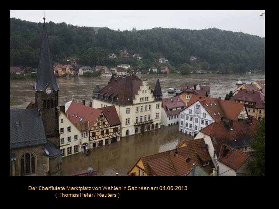 Das überflutete Passau am 04.06.2013 ( Wolfgang Rattay / Reuters )