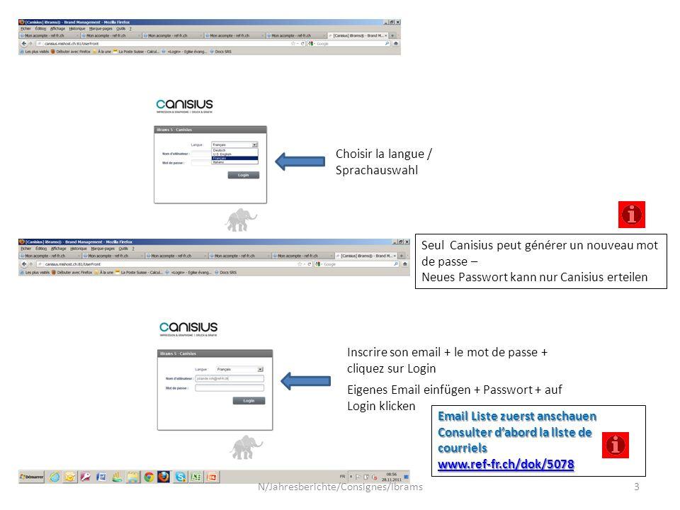 Permet de modifier ses données personnelles, comme le mot de passe.